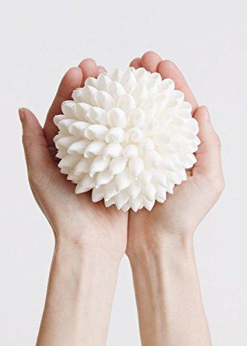 Seashell Kissing Ball in White - 4in. (Seashell Ball)