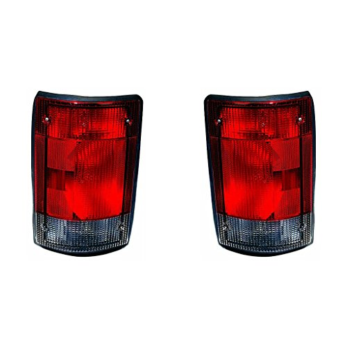 (Fits Ford EconoLine Van 04-14/Excursion 04-05 Tail Light Assembly Pair Driver and Passenger Side (NSF)