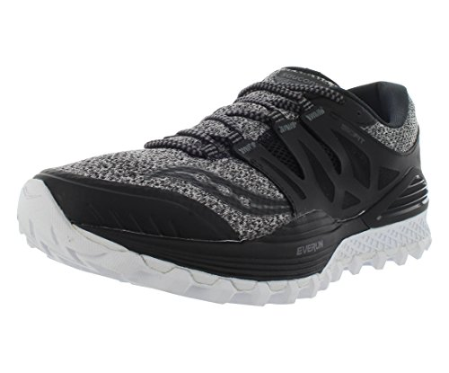 Saucony Women's Xodus ISO LR Trail Runner, Maru/Black, 6 M US