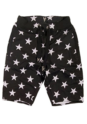 TL Men's 4th Of July Independence Day American Patriotic Flag Tops and Bottoms STARSHORT_BLACK - Sale Independence Day In Usa