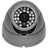 Outdoor Dome Night Vision IR CCD Security Camera 560TVL High Resolution by Great Wing
