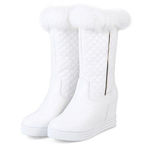 On Wedges TAOFFEN Women's Pull White Snow Boots HXHvrwxq5