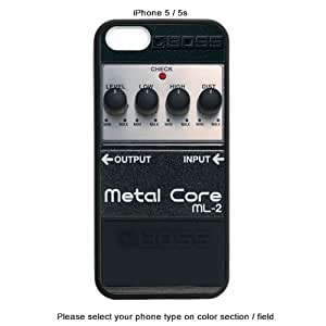 Boss Metal Core Ml5 Guitar Pedals Effects Ra005 Custom Cases for Iphone 6,6plus,5,5s (iPhone 5 / 5S)