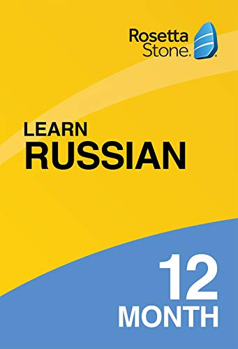 Software : Rosetta Stone: Learn Russian for 12 months on iOS, Android, PC, and Mac [Activation Code by Mail]