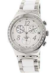 Swatch Dreamwhite Chronograph Unisex Watch - White