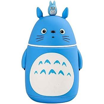 Bamboo's Grocery Cute Totoro Vacuum Bottle, Vacuum Cup, Travel Mug, 280 ML, Stainless Steel, Blue