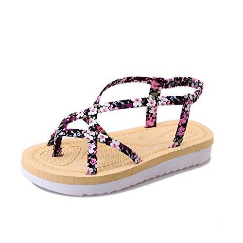 XZGC - Zapatos de tacón  Mujer Rosa