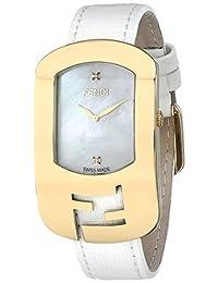 Fendi Women's F300434541D1 Chameleon Analog Display Quartz White Watch