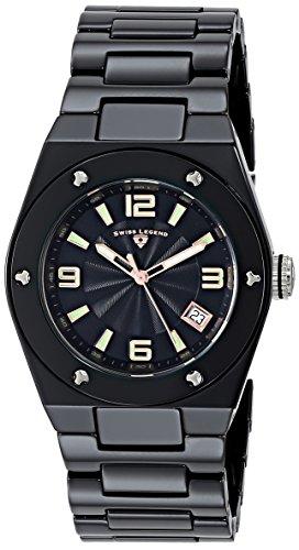 Swiss Legend Throttle (Swiss Legend Women's 10054-BKBTRA Throttle Analog Display Swiss Quartz Black Watch)