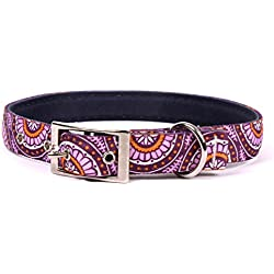 """Yellow Dog Design Radiance Purple Uptown Dog Collar, Small-3/4 Wide and fits Neck Sizes 11 to 14.5"""""""