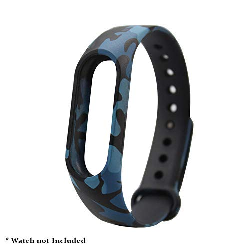 Brain Freezer Printing Camouflage Strap Smart Activity Tracker Compatible with Xiaomi MI Band 2 and Mi Band HRX Price & Reviews