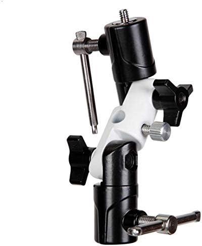 Semoic Light U-Shaped Swivel Flash Holder Three-Section Bracket Light Stand//Tripod//Flash//Photography Umbrella Universal