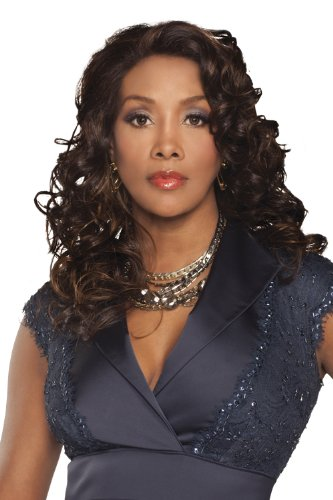 Beverly Johnson Vivica Fox Fergie Lace Front Wig Color 2 Darkest