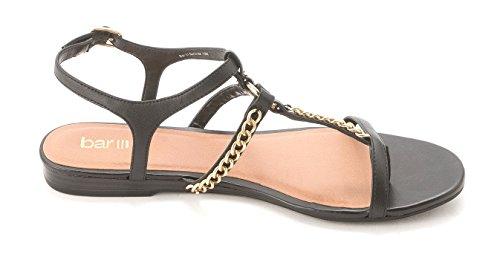 Bar Iii Femmes Bout Ouvert Chaussures Décontractées Slingback Noir