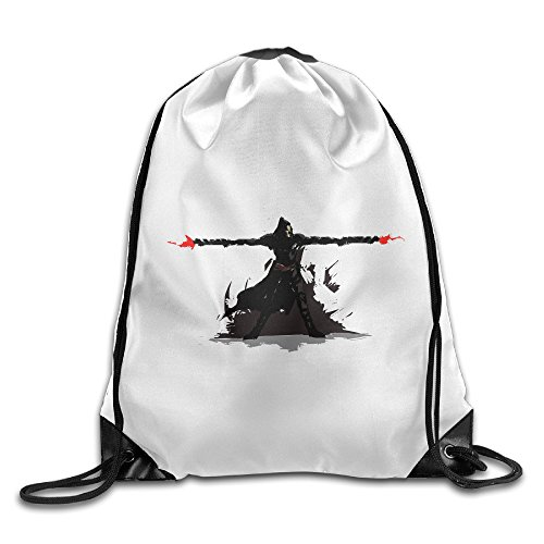 Bekey Overwatch Fire Gym Drawstring Backpack Bags For Men & Women For Home Travel Storage Use Gym Traveling Shopping Sport Yoga - Justin Timberlake Blazer