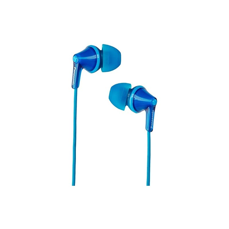 fc7e96bac67 Panasonic RP-HJE125-A Wired Earphones, Blue | Whydis?
