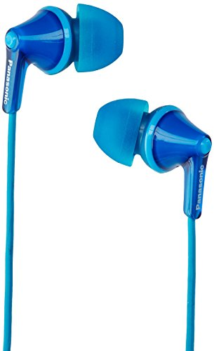 (Panasonic RP-HJE125-A Wired Earphones, Blue)