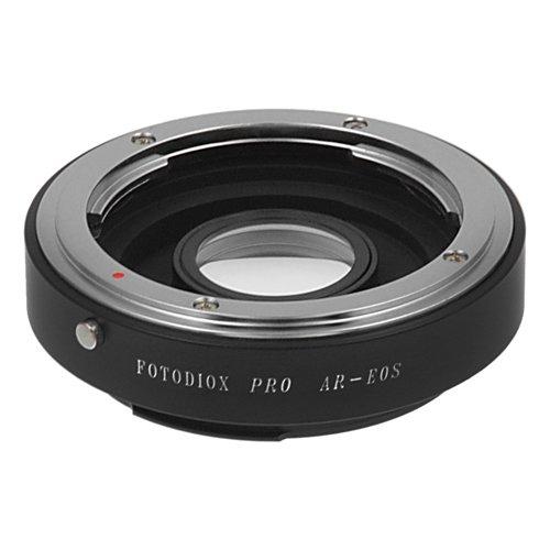 Fotodiox Pro Lens Mount Adapter - Konica Auto-Reflex (AR) SLR Lens to Canon EOS (EF, EF-S) Mount SLR Camera Body (Mount Konica)