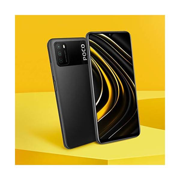 "Xiaomi Poco M3 - Smartphone 4+64GB, 6,53"" FHD+ Dot Drop Display, Snapdragon 662, 48MP AI Tripla Camera, 6000 mAh, Power Black 2"