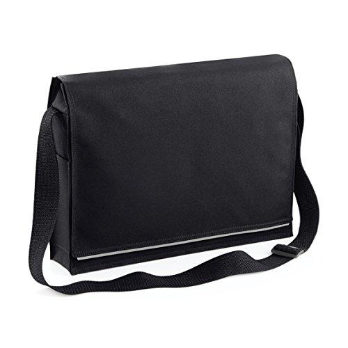 hombre Bolso BagBase hombro Black para al xIxq4wTP