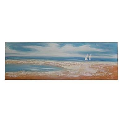 "StealStreet SS-Edb-EN112703 59.25"" Canvas Oil Hand Painting"