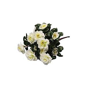 Artificial Flowers Bouquet Simulation of Azalea Safflower Home Wedding Decoration Flores artificiais para Decora o 64