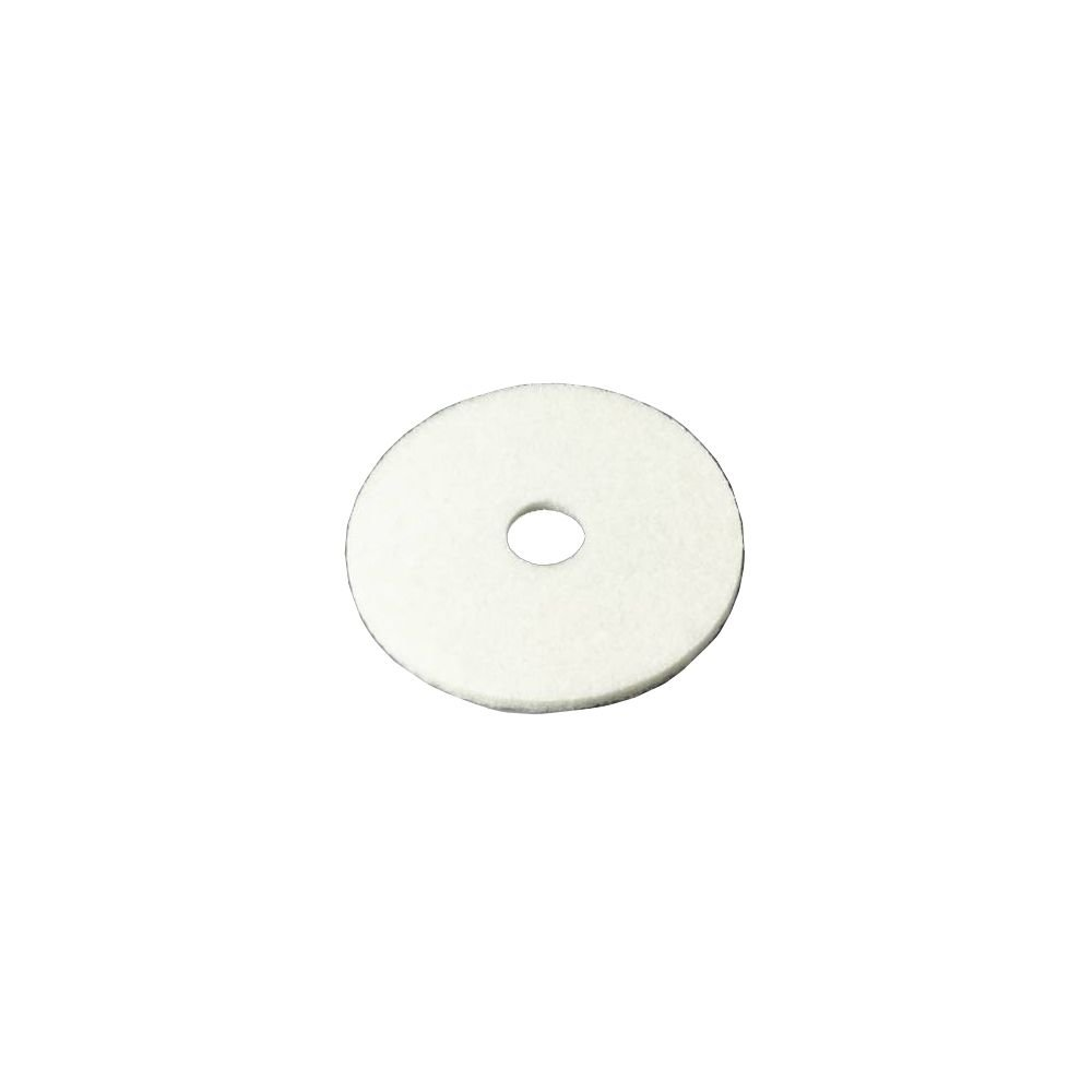 3M Niagara Polishing Floor Pads, 4100N, 13 inch, White, Pack of 5