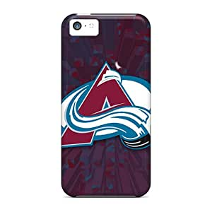 SherriFakhry Iphone 5c Scratch Protection Mobile Covers Custom Vivid Colorado Avalanche Series [qSj19298ZhyG]