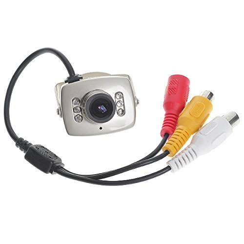 CMOS Security Hidden Camera CCTV Home Surveillance with 6-IR
