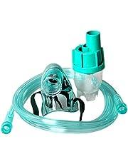 Ballylelly Hospital Hogar de ancianos Máscara de oxígeno Máscara de enmascaramiento Máscara de oxígeno para adultos Nebulizador líquido médico