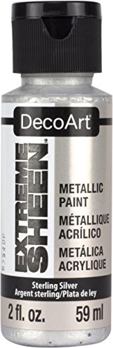 (DecoArt 2 Ounce, Sterling Silver Extreme Sheen)