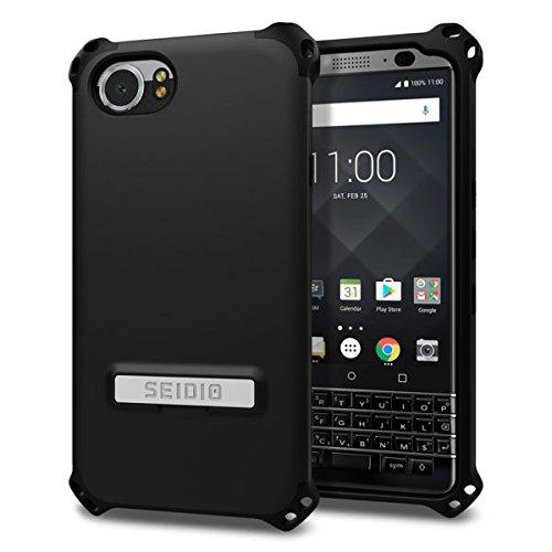 Seidio Dilex Case with Kickstand for BlackBerry KEYOne (Black/Black)