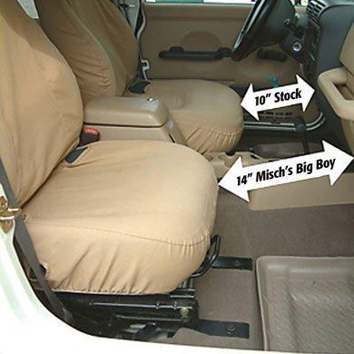 Misch's BIG BOY SEAT BRACKET PASSENGER JBBTJ250P