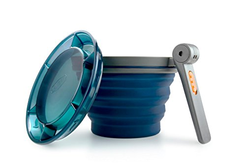 GSI Outdoors 79202 Collapsible Blue Fairshare Mug