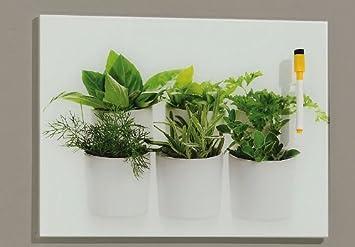 memoboard / wandbild aus glas - memotafel aus sicherheitsglas ... - Glasbilder Für Küche