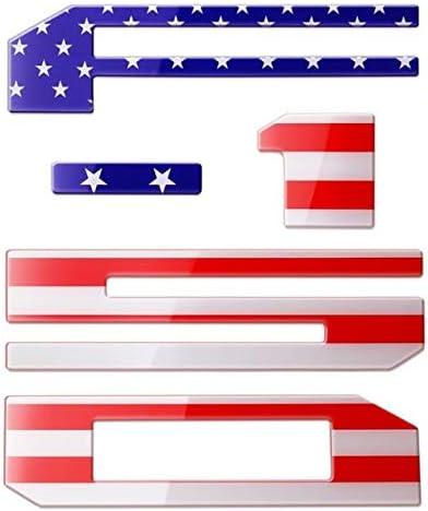 American Flag F150 TAILGATE EMBLEMS