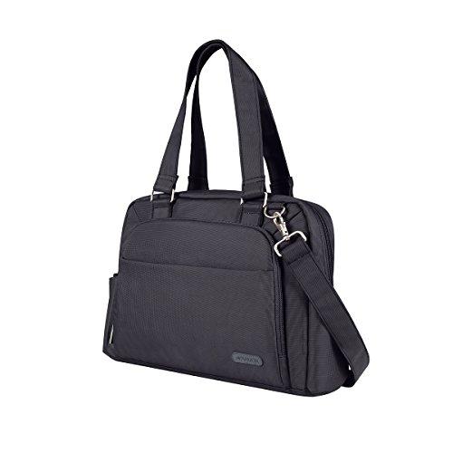 Arvok 13 13.3 14 Inch Laptop Shoulder Bag Water-resistant Sleek Fabric Sleeve With Handle/Strap/Notebook Computer Messenger Carrying Case/Ultrabook Briefcase For (Belkin Mobile Mouse)