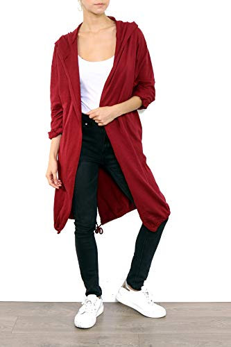 Italy Trench Giacca Bordeaux Donna Fashion vwdHqv