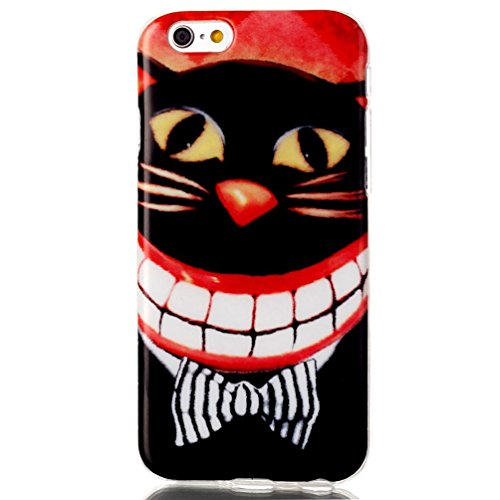 iPhone 5C Case, Firefish Premium Scratch Shock Resistant [Flexible] TPU Gel Silicone [No Slip] Back Cover for Apple iPhone 5C-Cat