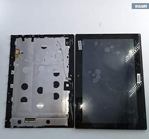 کالواس برای 10.1 اینچی مونتاژ دیجیتایزر صفحه نمایش لمسی با ابزارهای قاب - Lenovo MIIX320 MIIX 320-10ICR MIIX 320 LCD - (رنگ: سیاه)