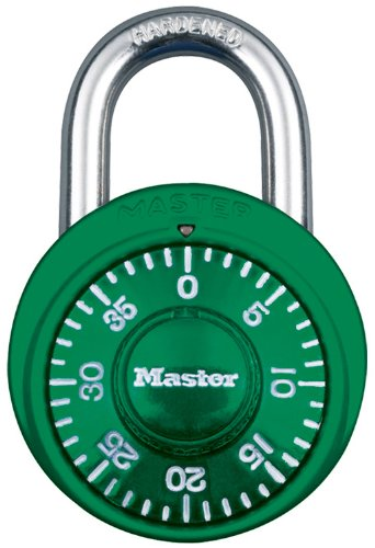 Master Lock 1529DTGT Combination Green