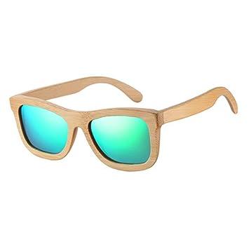 LAMAMAG Gafas de sol Gafas De Sol De Madera De Bambú ...