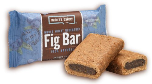 Nature's Bakery Whole Wheat Fig Bar, Blueberry, 2 Ounce (Pack of 12)