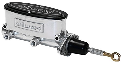 NEW WILWOOD POLISHED ALUMINUM TANDEM CHAMBER MASTER CYLINDER FOR 64-73 FORD MUSTANG, DUAL OUTLET, 1964, 1965, 1966, 1967, 1968, 1969, 1970, 1971, 1972, 1973, WILWOOD, PART # 260-12900-P, SOUTHWEST SPEED