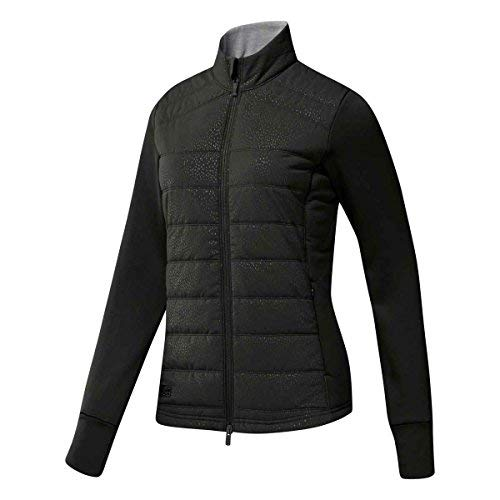 Golf Quilted Vest - adidas Golf Women's Quilted Jacket Black/Core Heather Medium