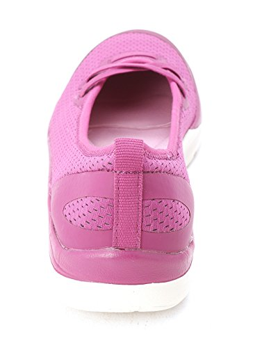 Easy Spirit Damen Laufschuhe Dark Pink/Dark Pink Fabric
