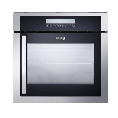 6HA-200TRX 24'''' European Convection Wall Oven with Right Hinge 10 Cooking Programs LED Touch Control and High Energy Efficiency in Stainless Steel by Fagor (Image #1)