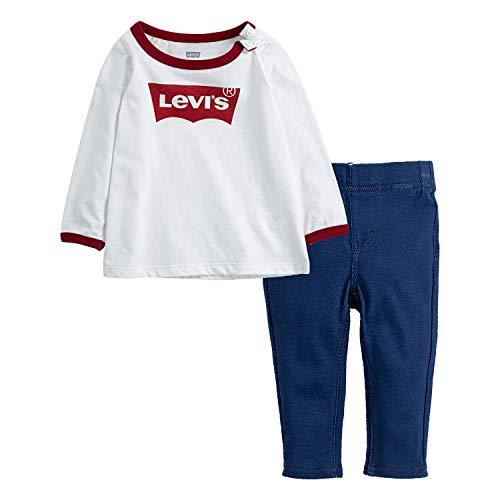 Levi's Baby Girls Long Sleeve T-...