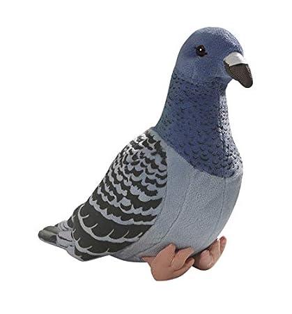 Carl Dick Peluche - Paloma de Color Azul (Felpa, 24cm) [Juguete] 3299