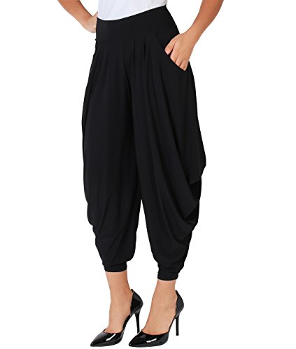Black Harem Pants - 7
